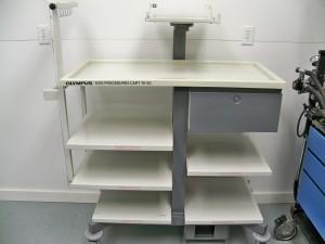 OLYMPUS EVIS Procedures Cart TK-E2