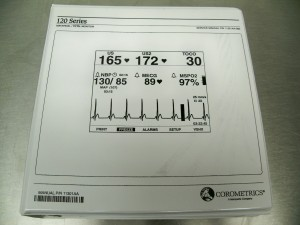 Corometrics 120 Series Monitors Service Manual